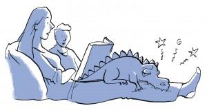 3_mom reading