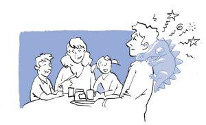 Leuke dingen doen met je gezin, ondanks de pijn