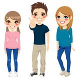 mijn drie kinderen