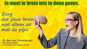 laat je brein niet alleen
