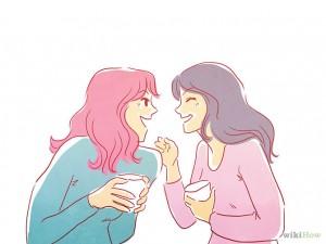 vriendinnen in gesprek